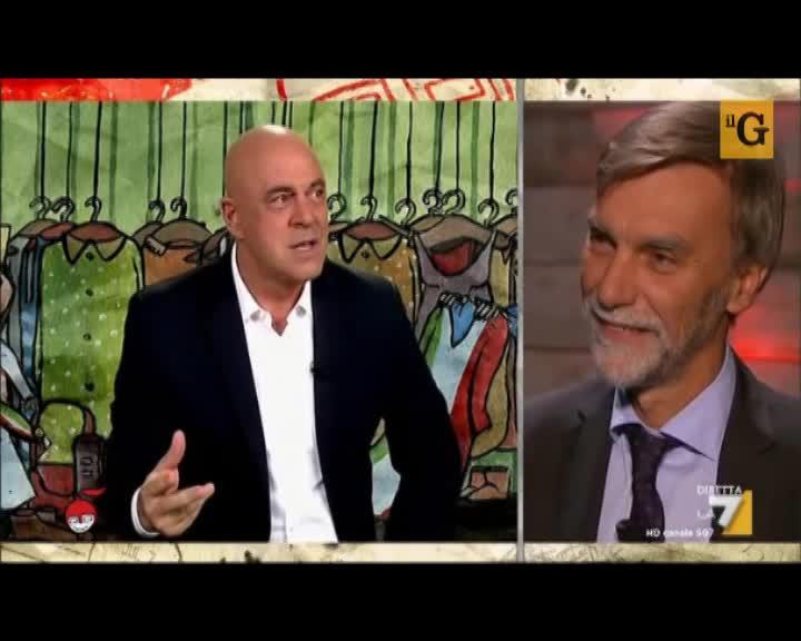 """Crozza: """"Delrio, l'uomo che non teme di dire quel che pensa...Renzi"""""""
