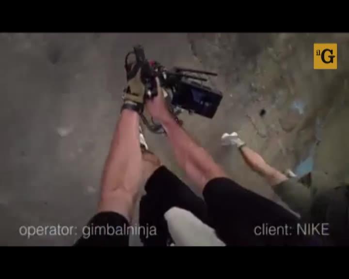 Per lo spot Nike serve un videoperatore ninja