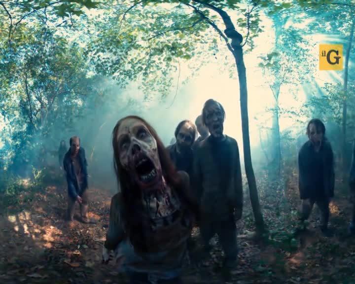 The Walking Dead, video a 360° fra gli zombi