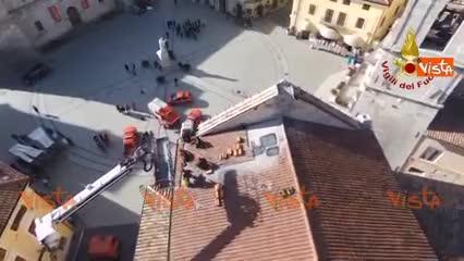 Chiesa di San Benedetto: le riprese aeree del drone