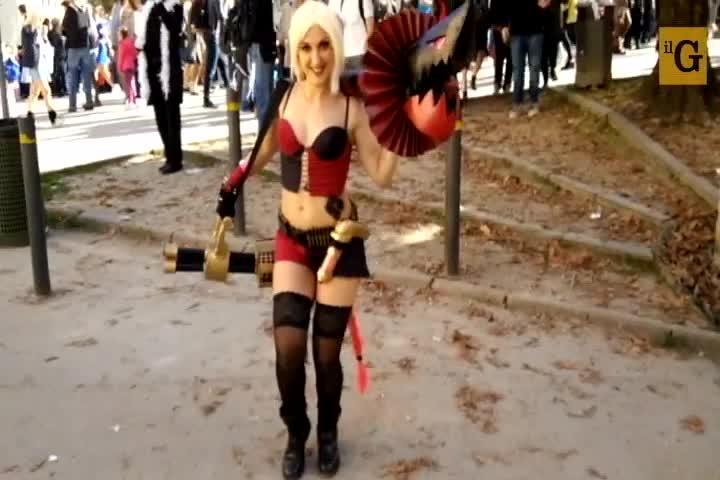 Il fenomeno del cosplay a Lucca Comics & Games