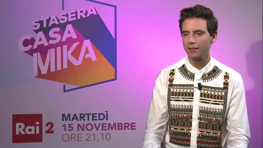 Il nuovo programma di Mika in tv
