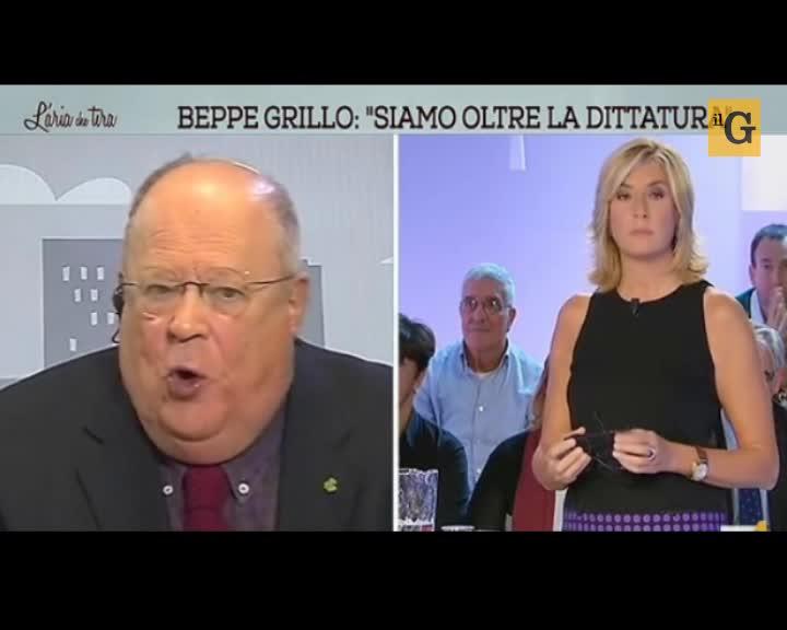 """Cazzola: """"Se vince Grillo auspico colpo di stato dei carabinieri"""""""