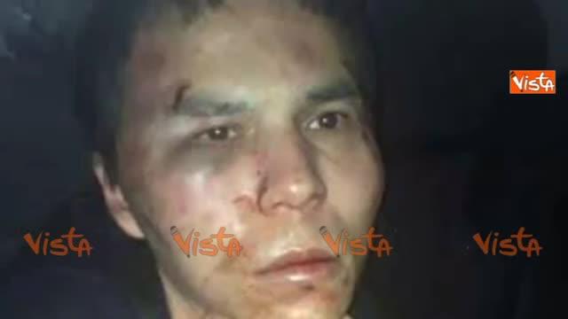 Arrestato il terrorista della strage di Capodanno: il volto prima e dopo la cattura