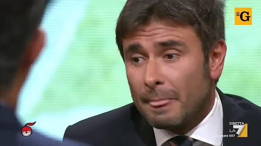 """Floris a Di Battista: """"Ma ha il permesso di Grillo?"""""""