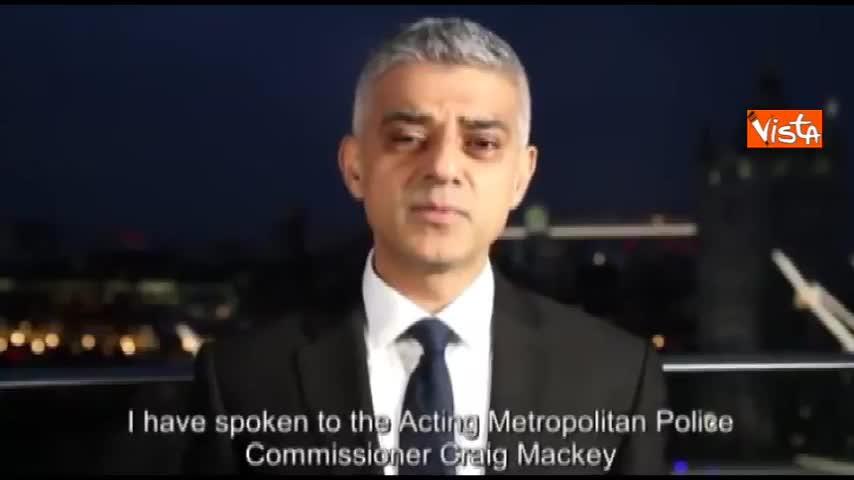 """Il sindaco di Londra: """"Non ci piegheremo mai"""""""