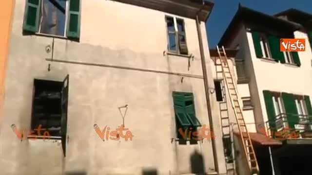 Genova brucia e crolla la casa genitori e bimbo si lanciano dalla finestra - Bimbo gettato dalla finestra ...