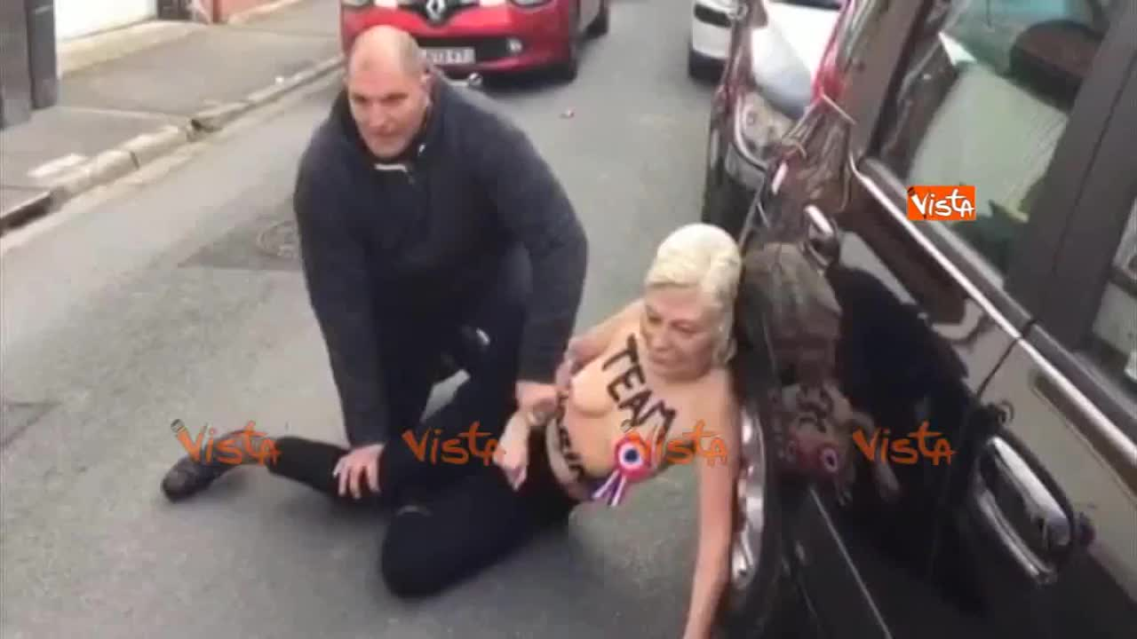 Francia, Femen mascherate
