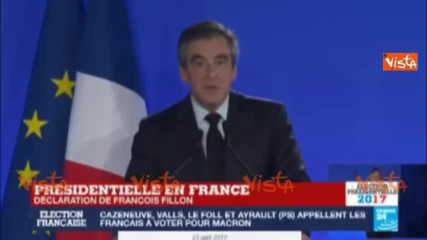 "Francia, Fillon: ""No all' estremismo"""