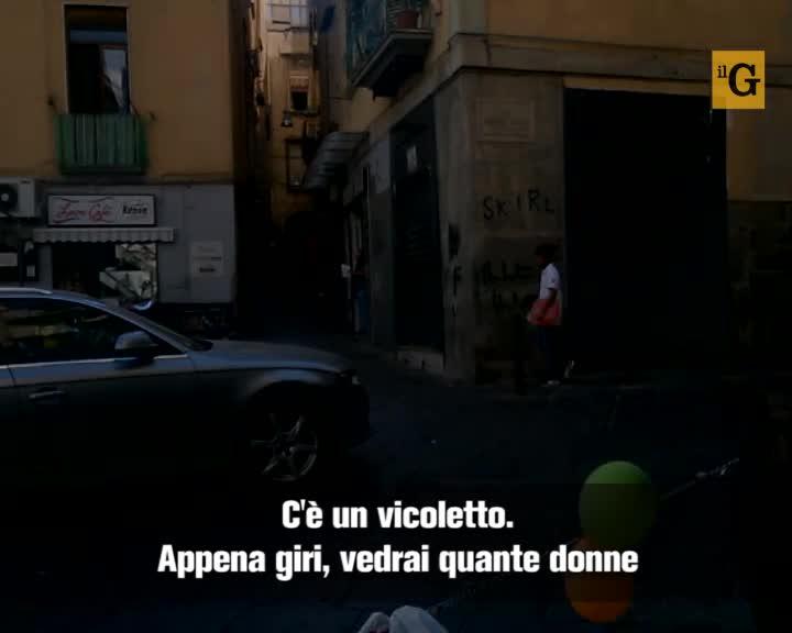 """Napoli, viaggio nella """"via della morte"""""""