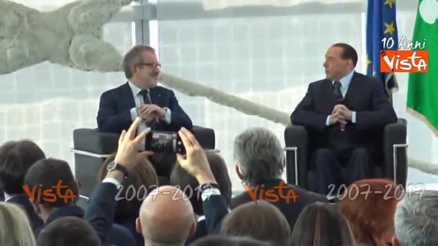Berlusconi sulla soglia di sbarramento