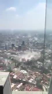Terremoto a Città del Messico: crolli e panico