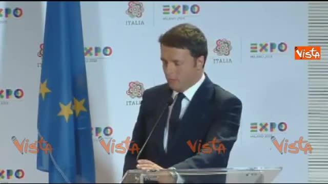 """Renzi a Putin: """"Vinceremo il mondiale il Russia"""""""