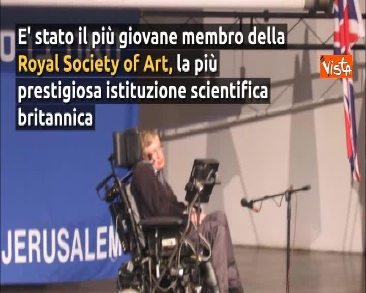 Addio a Stephen Hawking, l'astrofisico dei buchi neri e star del cinema