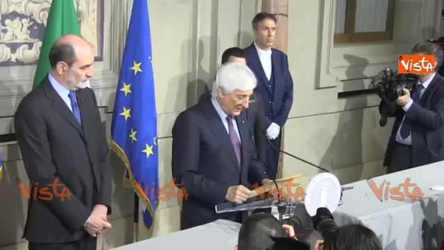 """Colle, Zampetti: """"Cottarelli ha rimesso il mandato"""""""