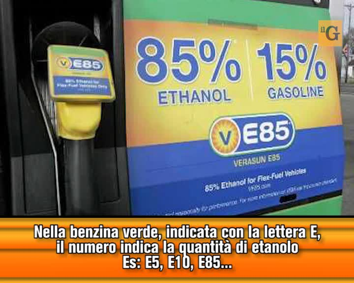 Ecco come cambiano i nomi dei carburanti