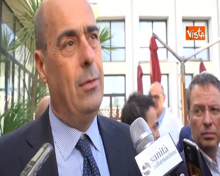 """Manovra, Zingaretti: """"Finora il Governo ha solo aumentato debito"""""""