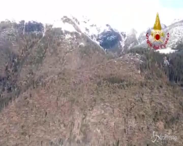 La strage di alberi sulle Dolomiti