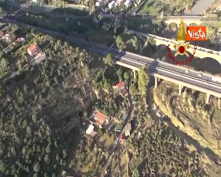 La Sicilia devastata dal maltempo, le immagini di Casteldaccia dall'elicottero dei Vigili del Fuoco