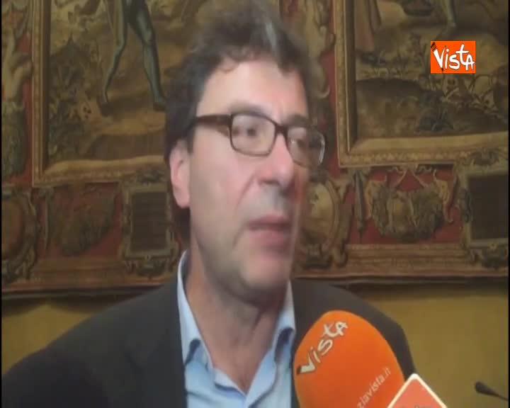 """Maltempo, Giorgetti: """"Non ci saranno regioni di serie A o serie B"""""""