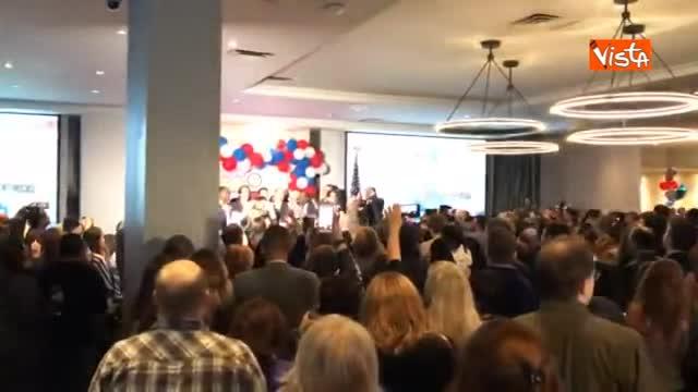 Elezioni USA, la gioia dei democratici per il risultato positivo