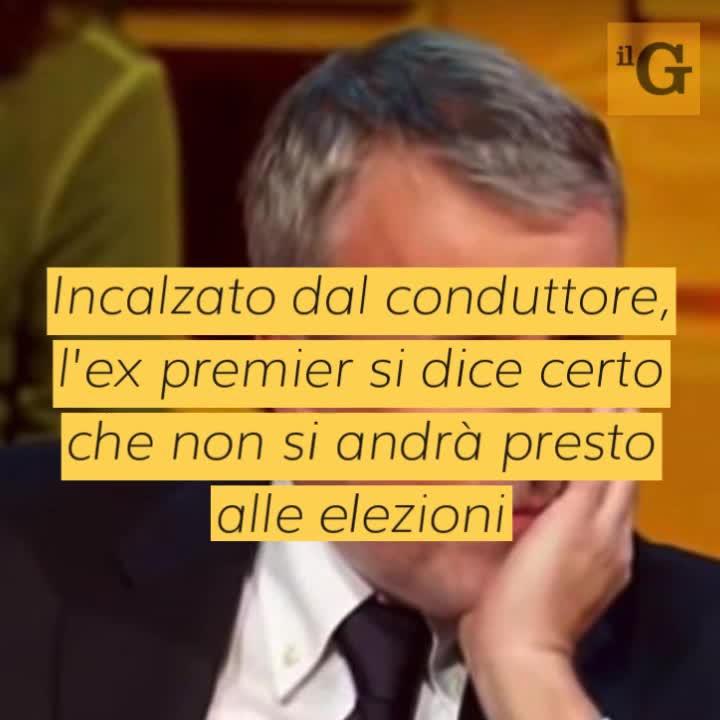 """Renzi contro il governo: """"Non andranno al voto, attaccati alle poltrone"""""""