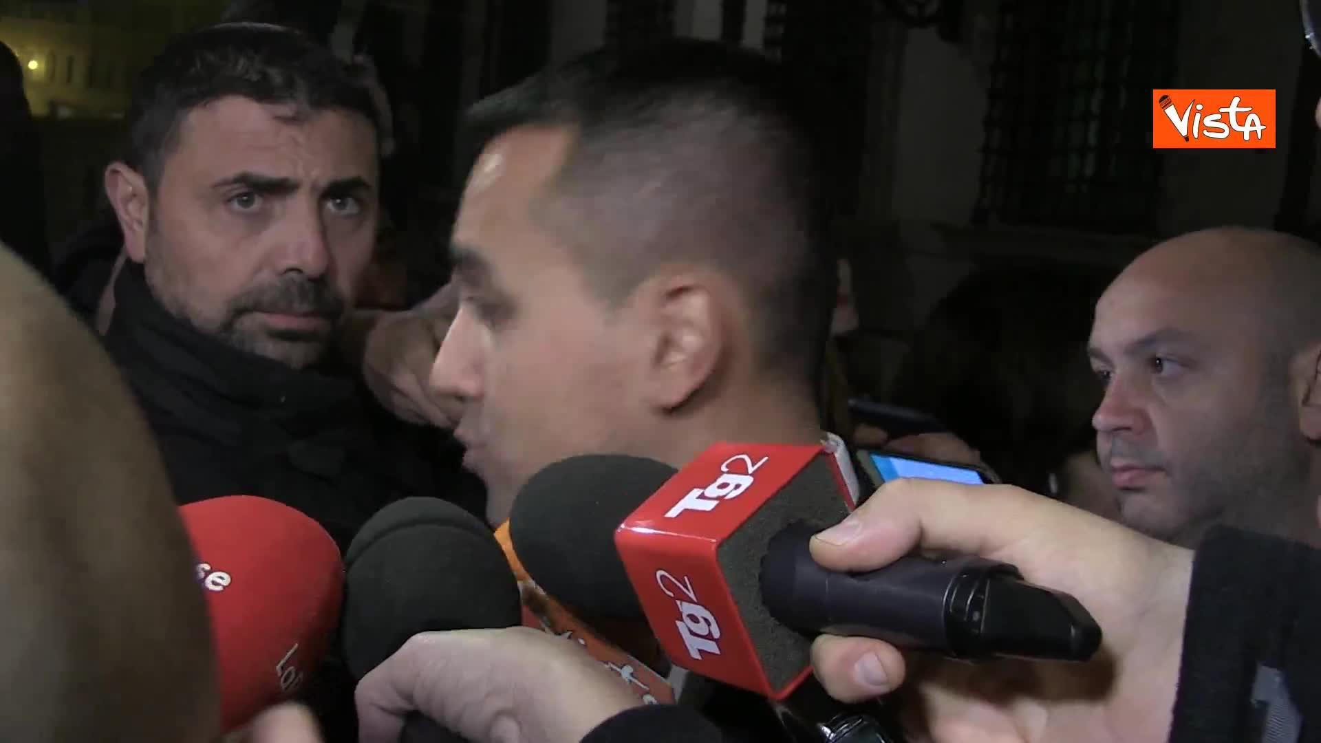 Di Maio contro i dissidenti M5s: ''Governo battuto? Fatto gravissimo''