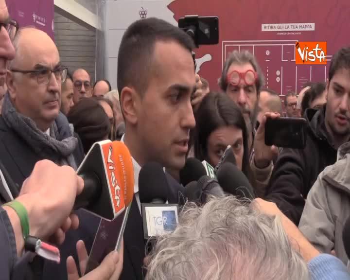 """Tim, Di Maio: """"Noi non interferiamo, vogliamo creare un player unico della rete"""""""