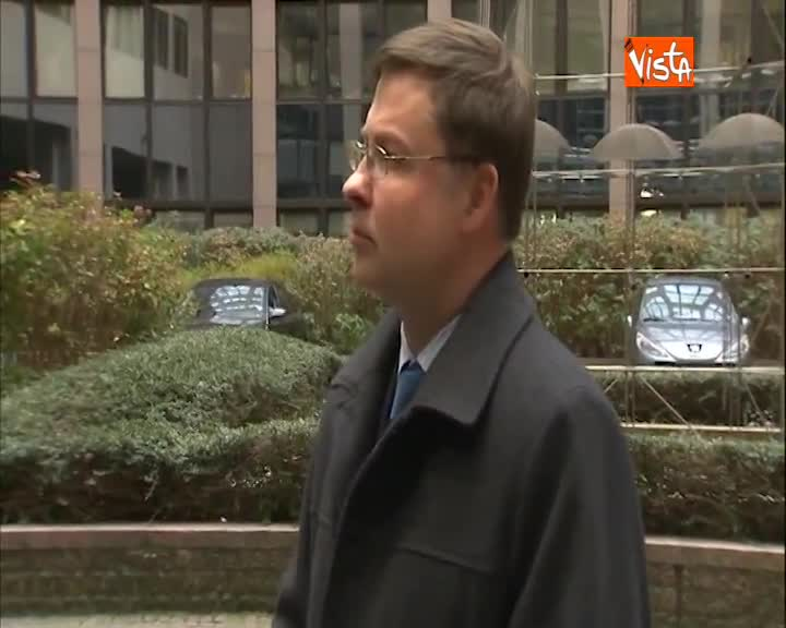 "Manovra, Dombrovskis: ""Mercoledì nostra decisione su Italia"""