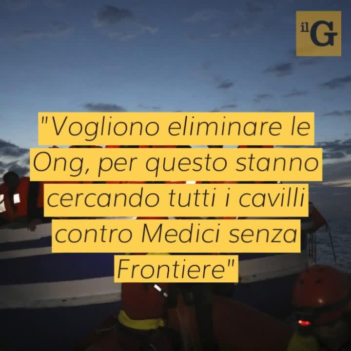 """Bartolo, medico di Lampedusa, difende le Ong: """"Vogliono eliminarle"""""""