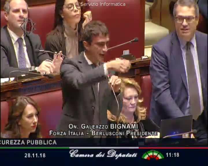 """Dl Sicurezza, Bignami contro Boldrini: """"Ordine del giorno ipocrita"""""""