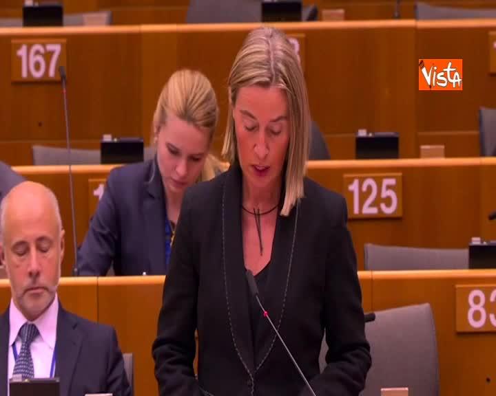 """Global Compact, Mogherini: """"Nessuno scontro con interessi nazionali"""""""