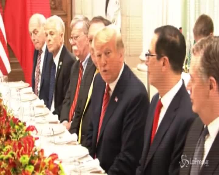 G20, Usa e Cina firmano la tregua commerciale dopo la cena di Buenos Aires
