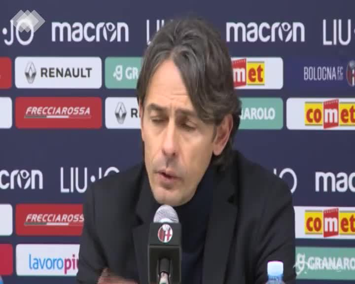 """Bologna, Inzaghi: """"C'è rammarico ma la squadra è stata straordinaria"""""""