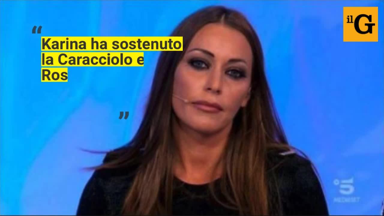 Rosa Perrotta contro Karina Cascella: lo scontro social