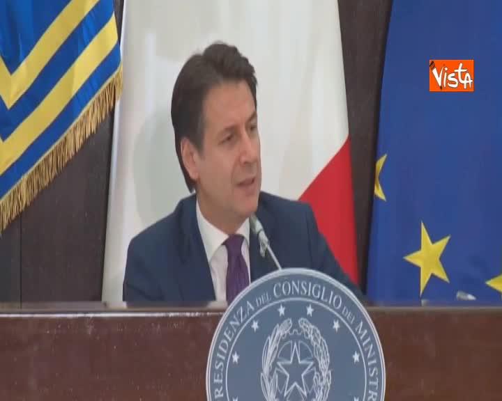 """Manovra, Conte: """"Non è una manovra scritta dall'Ue"""""""