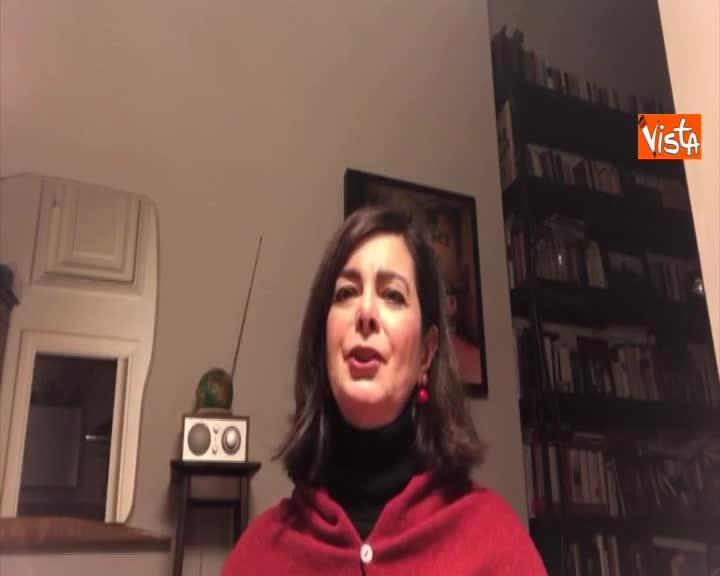 """Gli auguri di Laura Boldrini per il 2019: """"Unità dei progressisti e più tempo per mia figlia"""""""