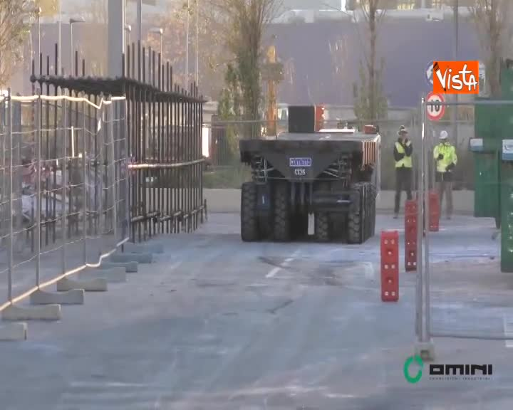 Ponte Morandi, test su raggio d'azione carrelli radiocomandati in vista della demolizione