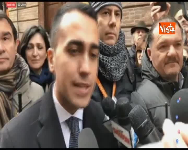 """Di Maio in Abruzzo: """"Per ricostruzione sisma bisogna abbattere burocrazia"""""""