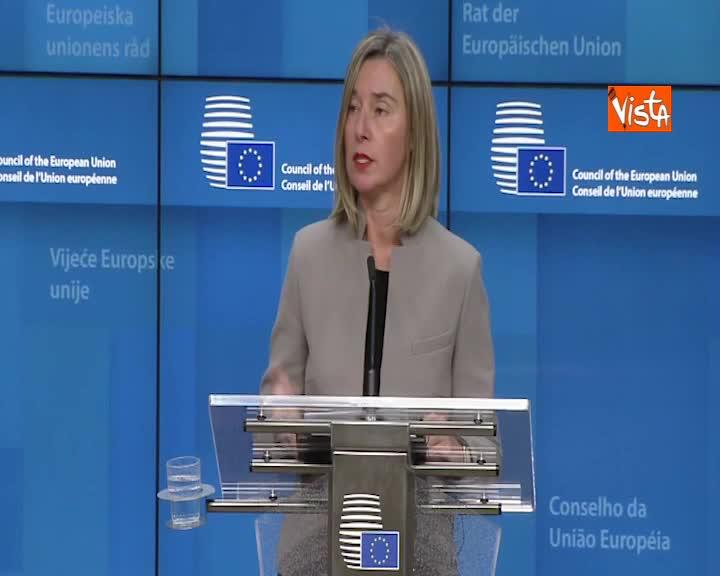 """Attentato in Colombia, Mogherini: """"Non impatterà su processo di pace con le FARC"""""""