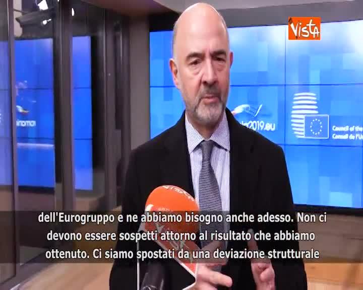 """Manovra Italia, Moscovici: """"Ottenuti risultati notevoli"""""""