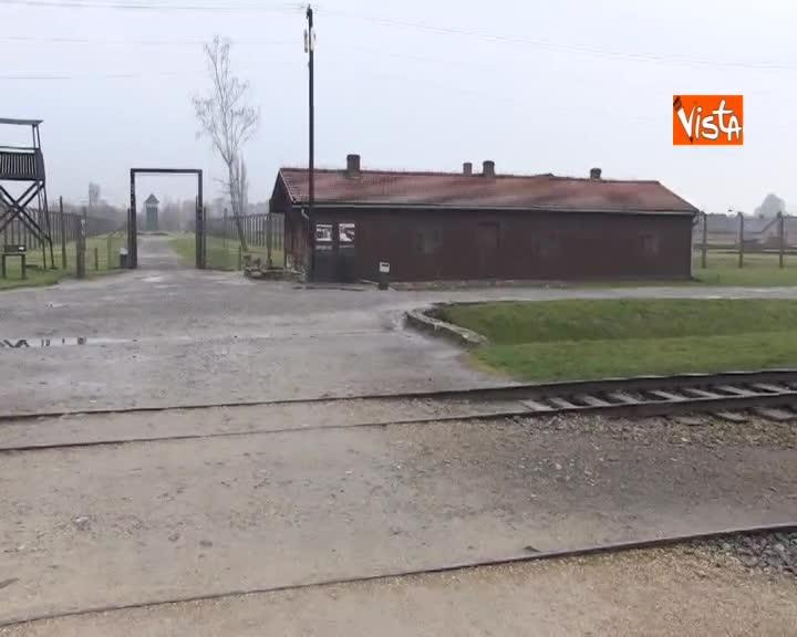 Giornata della memoria, le immagini di Birkenau Auschwitz