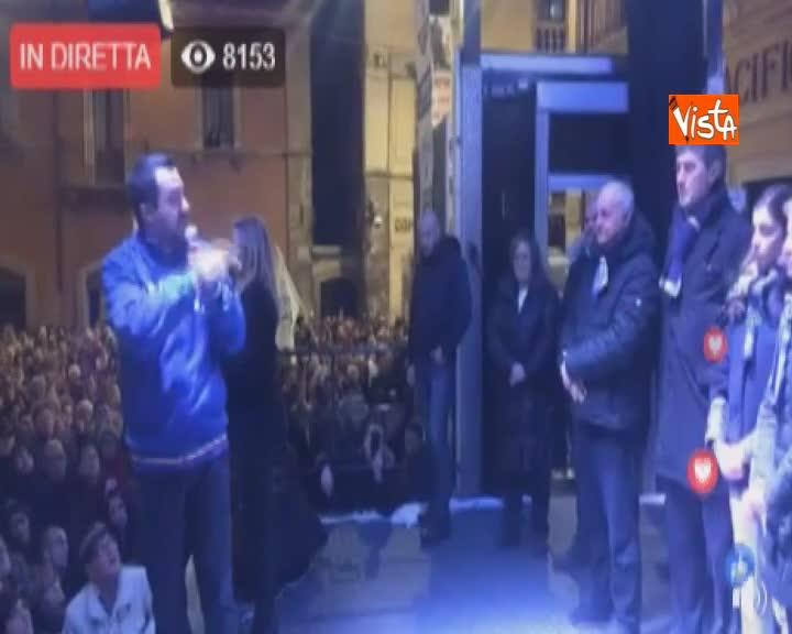 """Venezuela, Salvini: """"Spero che il regime comunista cada il prima possibile"""""""