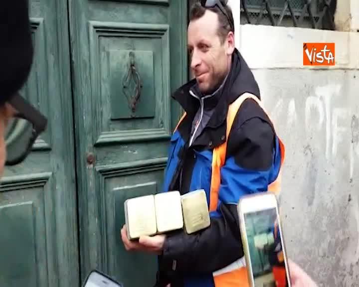 Shoah, posate nuove Pietre d'Inciampo nel ghetto di Venezia