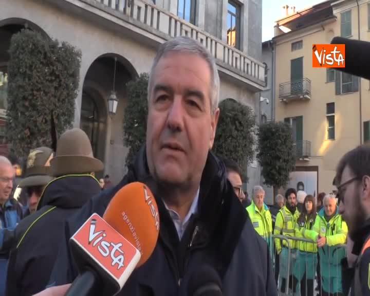 """Funerali Zamberletti, Borrelli: """"Ci mancherà ma porteremo avanti le sue idee"""""""