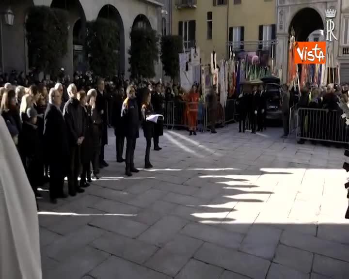 Mattarella ai Funerali di Stato dell'on. Giuseppe Zamberletti