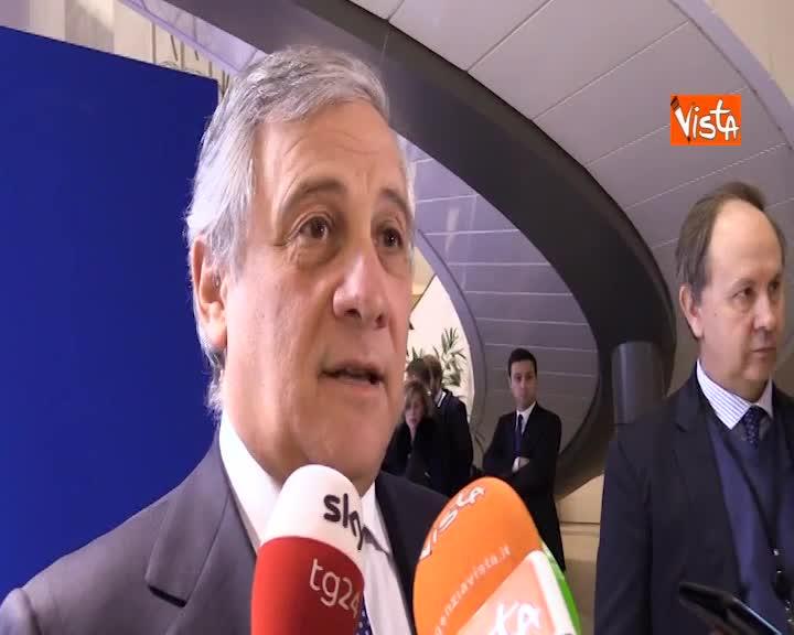 """Venezuela, Tajani: """"Parlamento UE prima istituzione comunitaria a riconoscere Guaido presidente"""""""