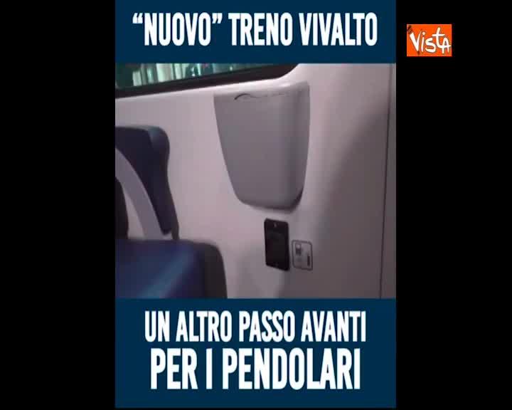 """Nuovo treno Vivalto a Trenord, Toninelli su Facebook: """"Un altro passo per i pendolari lombardi"""""""