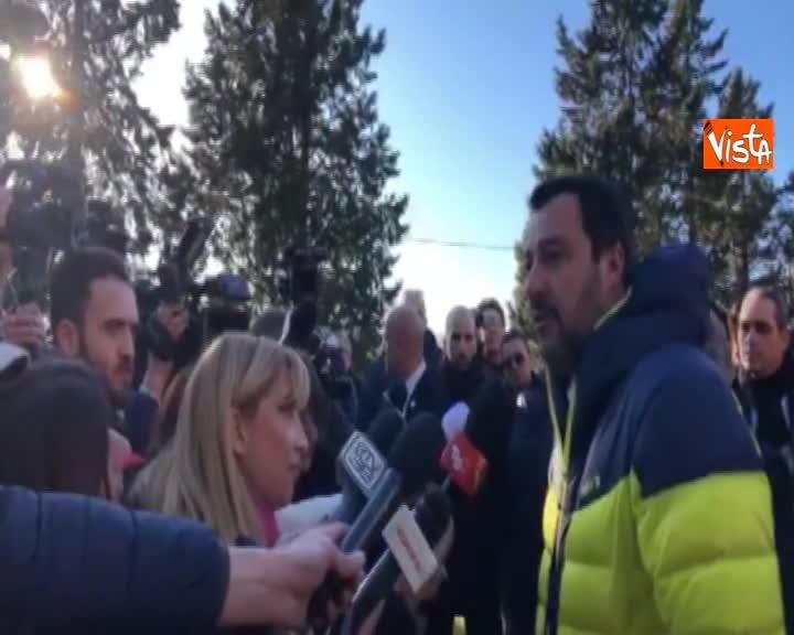 """Venezuela, Salvini: """"Apprezzo equilibrio Conte, ma Maduro è un delinquente"""""""