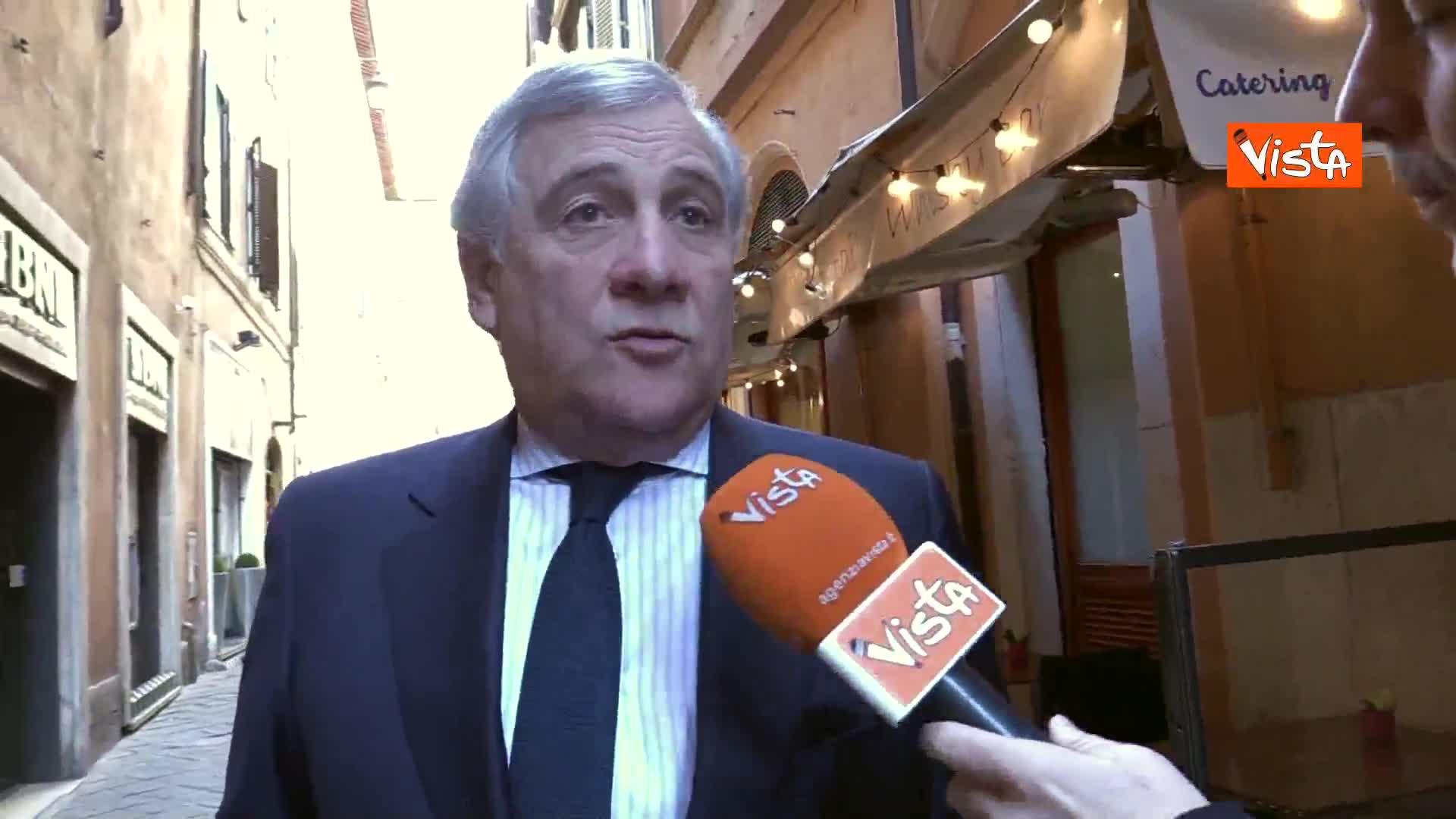 """Venezuela, Tajani: """"Italia non può stare dalla parte dei dittatori e contro la democrazia"""""""